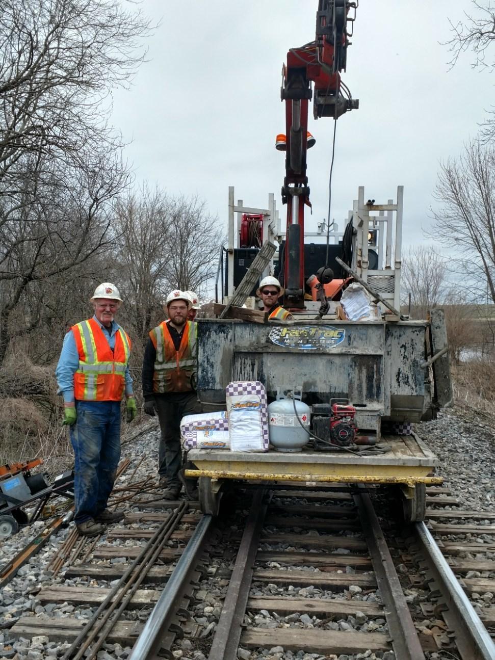 Railroad Bridge Repair:  Taking the FasTrac