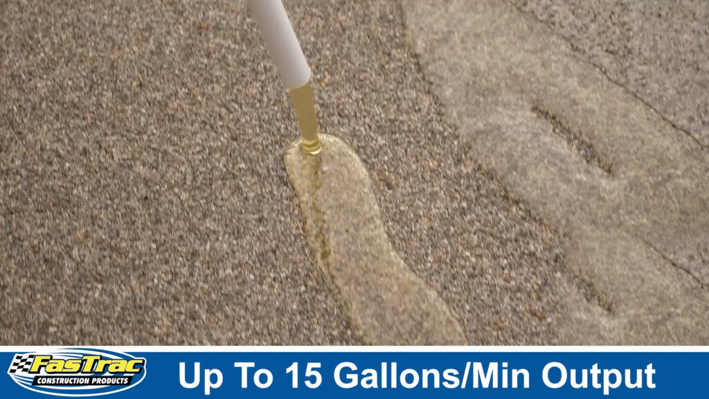 Epoxy Pump System gallons per minute output