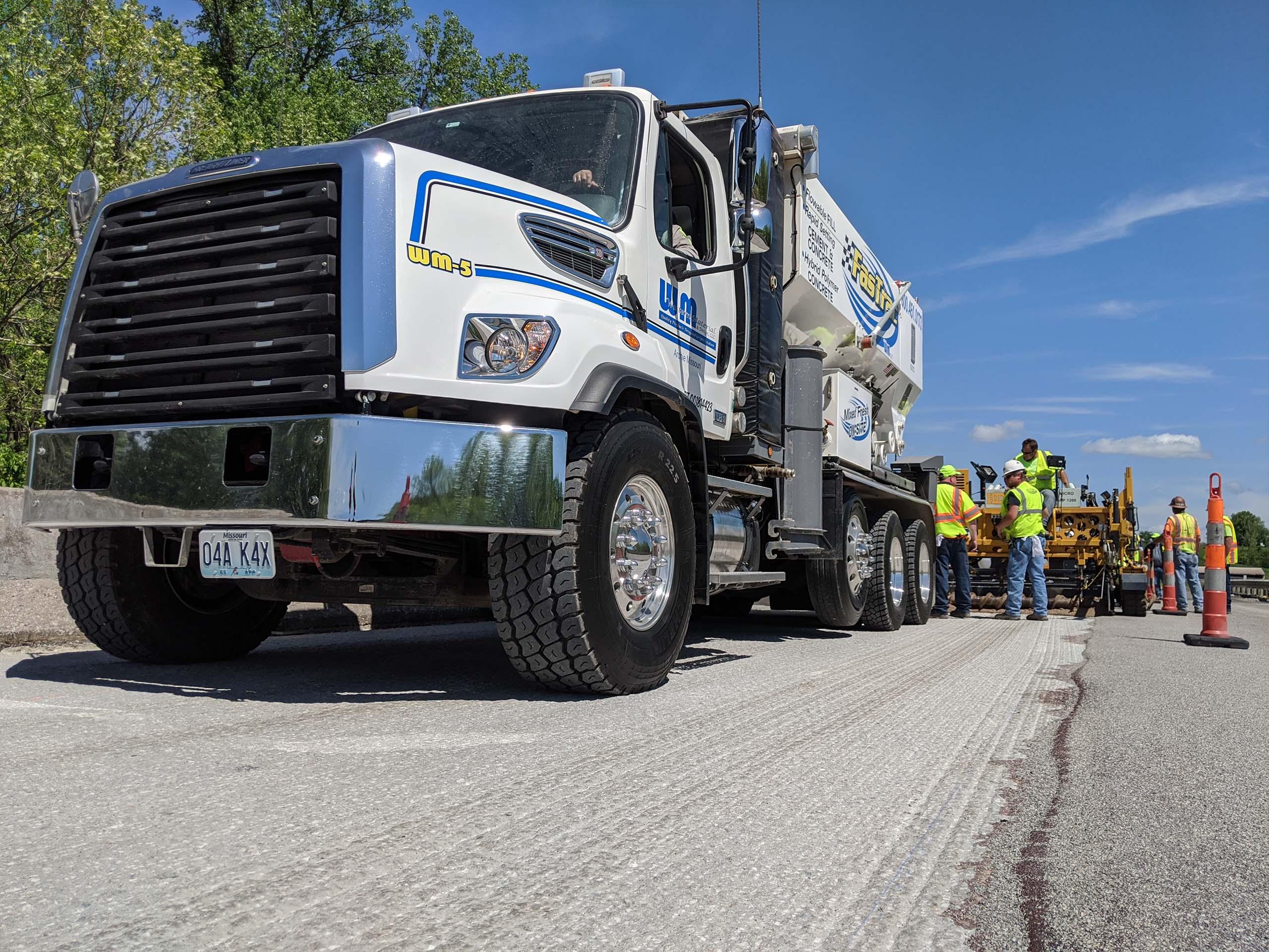 Franklin County, MO:  FasTrac Hybrid Polymer Concrete