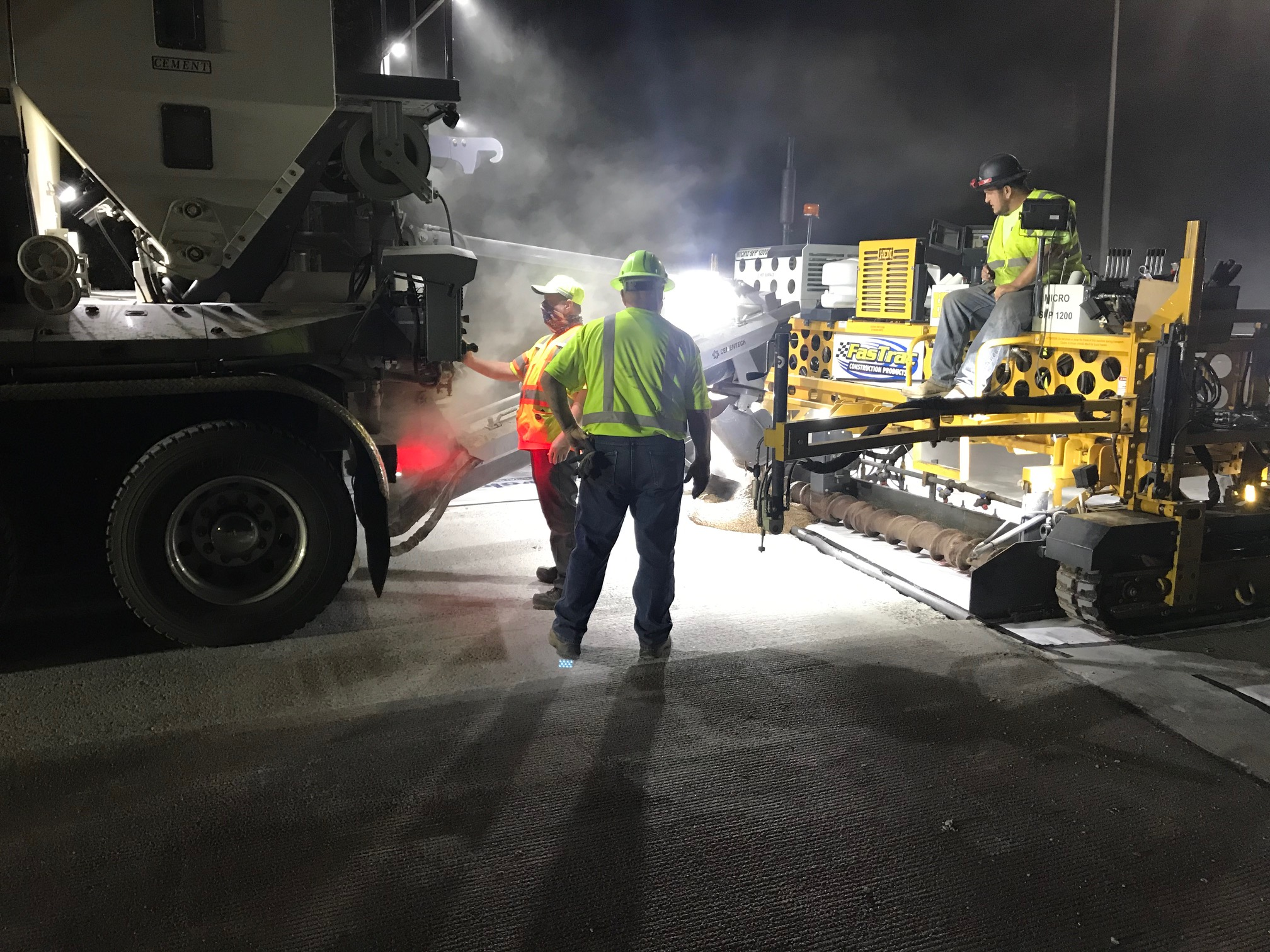 FasTrac Road Resurfacing in California
