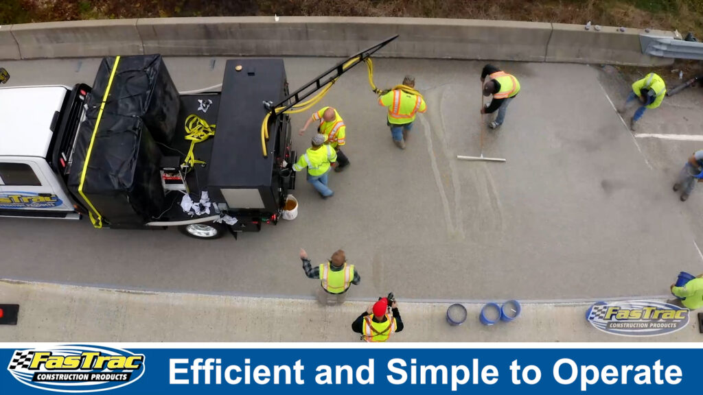 Epoxy Pump System is Simple to Use and Efficient